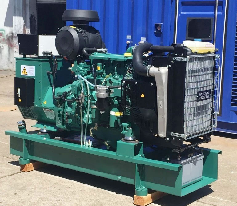 80KW发电机组