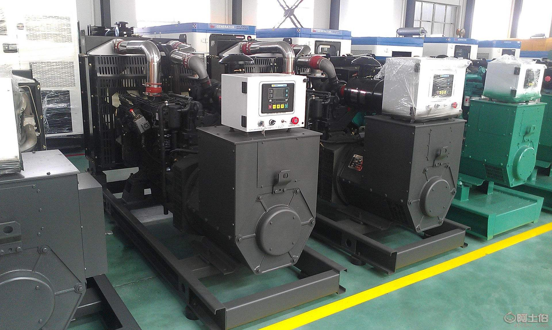 <b>智能型全自动化柴油发电机组</b>